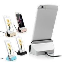 Wish | HOT SALE! Sync and Charging Dock Station Desktop Charger / Stand For iPhone