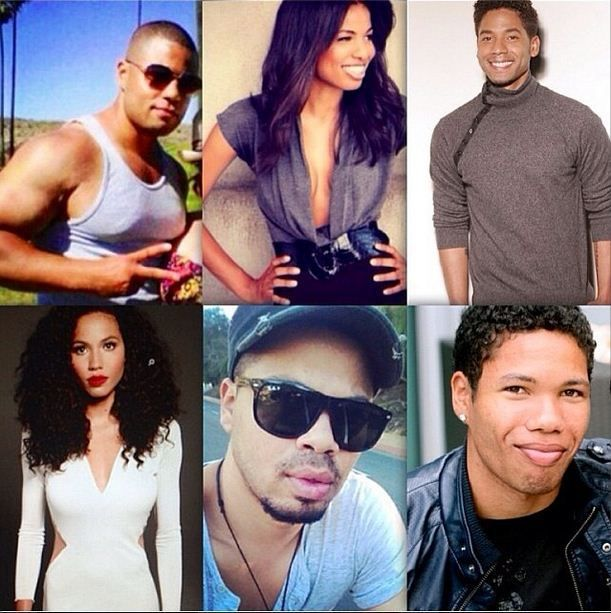 Jurnee Smollett-Bell and her siblings, Jussie, Jake, Jazz, Jojo and Jocqui