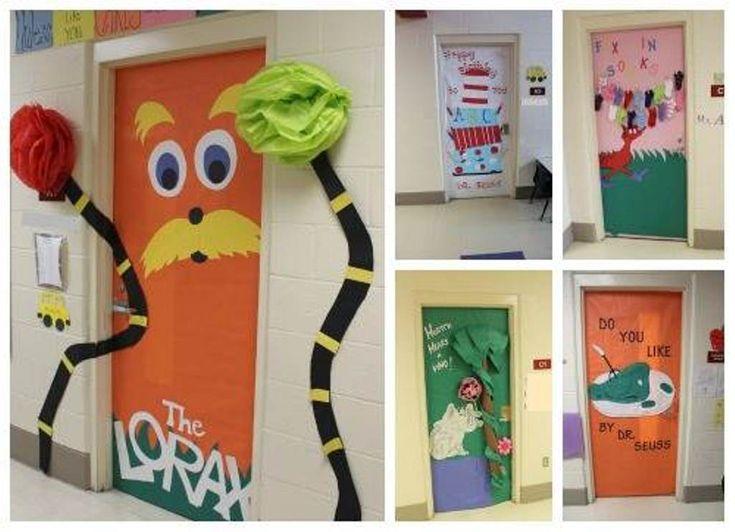 28 best Dr.seuss door decorations images on Pinterest