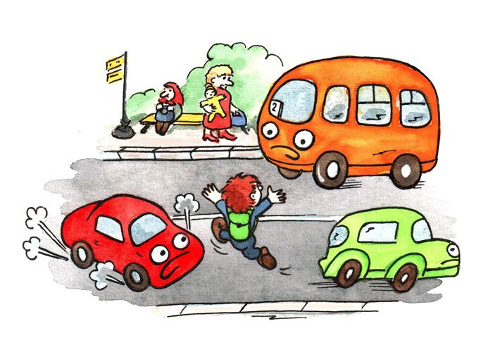 Картинки авария дети
