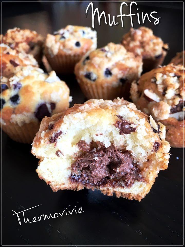 Muffins au thermomix, recette de Christophe Felder