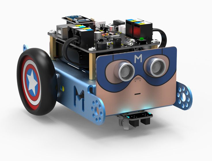 American Captain mBot!