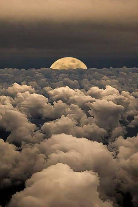# Moon  & Clouds ☁️