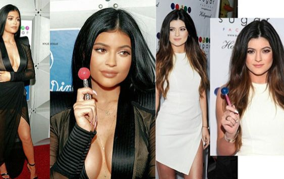 Young Breast Augmentation Before And After Kylie Jenner before an...