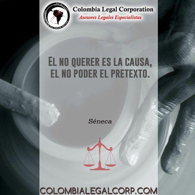 Saludos #Colombia Qué les parece esta frase de Séneca? #Derecho #FraseMotivadora #Metas #Inspiracion