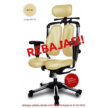 Mejores 7 im genes de rebajas enero 2016 sillas de for Silla oficina hernia discal