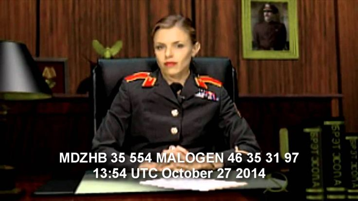 UVB 76 October 27 2014 two messages read by female operator