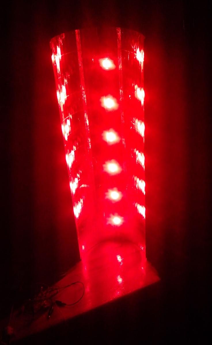 DIY LED - 6*10W RED