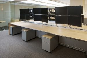 Polar Dealing Desk with air conditioning  #officefurniture #dealing #desk