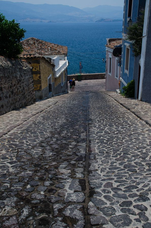 Lesvos | Molivos | Steep Street by Lillian Andersen on 500px  lesbos-eiland.webs.com