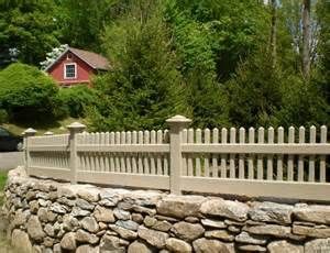 Merveilleux Picket Fences On Stone Walls     Yahoo Image Search Results