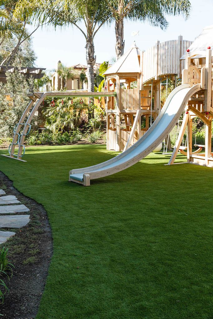 EasyTurf is safer and cleaner than natural sod when it comes to playground surfacing. l artificial grass l go green l fake grass l