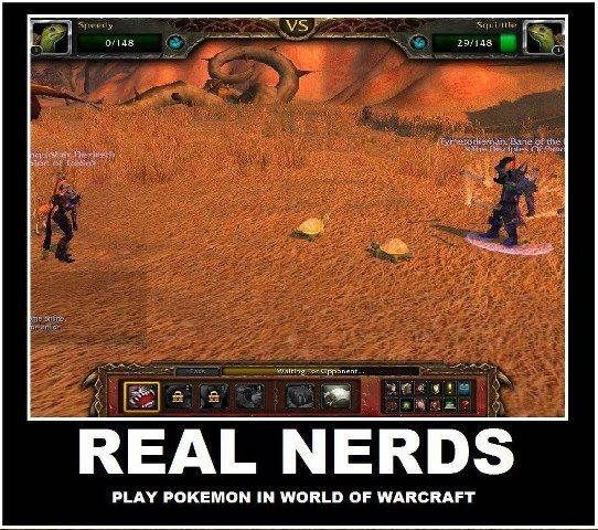 World of warcraft real nerds