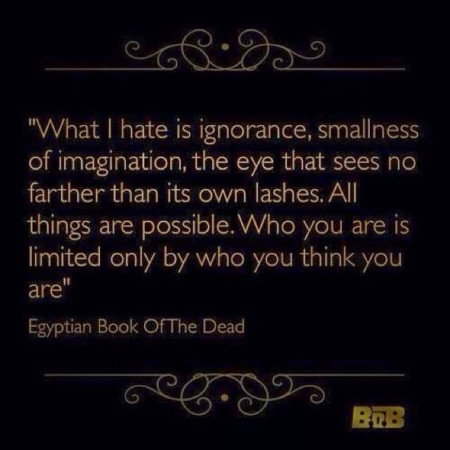 egyptian book of the dead quotations