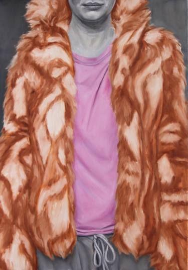 "Saatchi Art Artist sebastian sleczka; Painting, ""Fur"" #art"