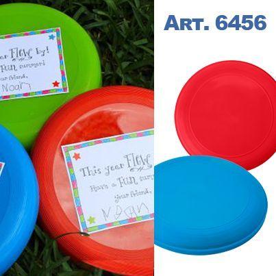 #Blog - 5 leuke relatiegeschenken voor de laatste #schooldag - Kleurrijke #frisbee