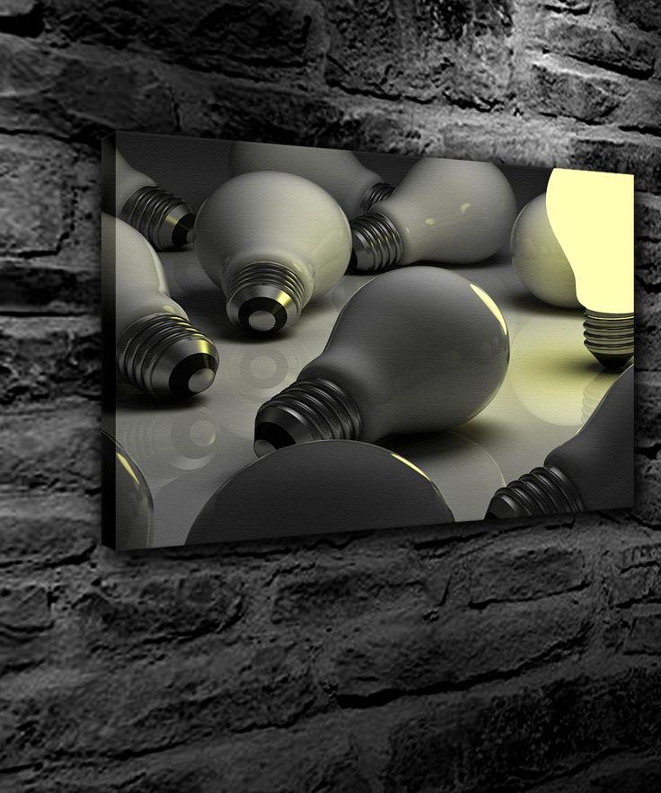 Kişiye Özel Ledli Kanvas Tablo (Yatay) 50 x 70 cm.