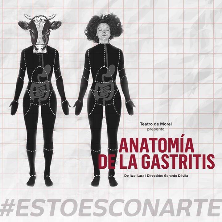 #TEATROconarte Este fin de semana la historia de una mujer su vaca y las dudas existenciales de ambas! ANATOMÍA DE LA GASTRÍTIS en #SalaExperimental [JUN.30 . 20H | JUN.01 & 02 . 18H] #EstoEsCONARTE