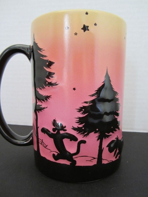 tigger sunset mug