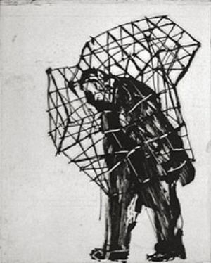 William Kentridge what an awesome image