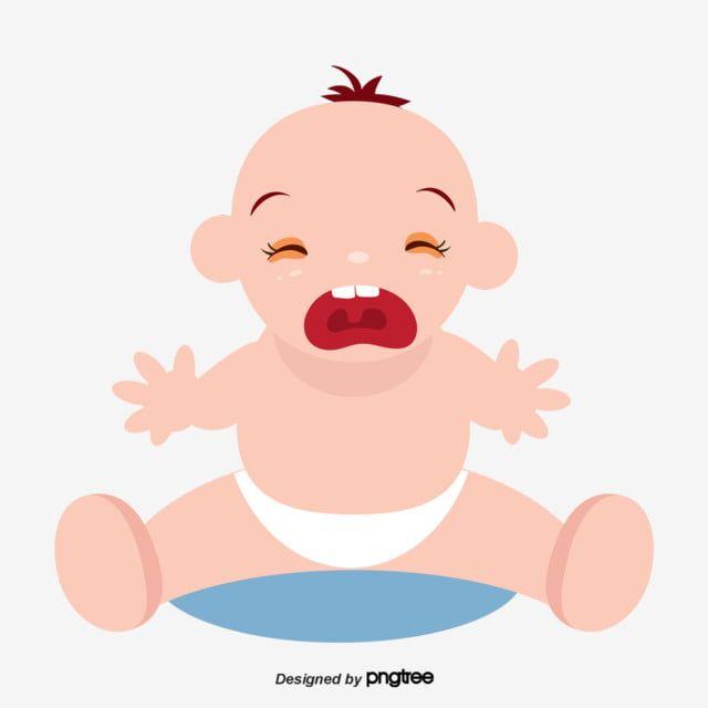 Gambar Kartun Memakai Popok Bayi Menangis Menangis Clipart Sedih Unsur Png Dan Psd Untuk Muat Turun Percuma Kartun Ilustrasi Karakter Popok