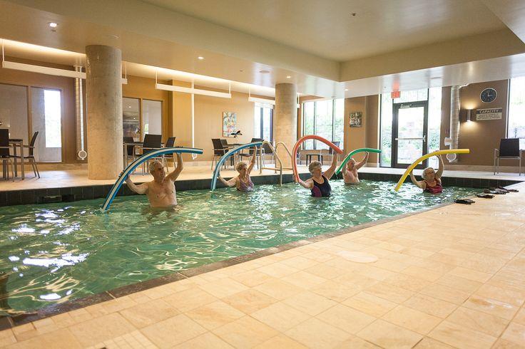 Aqua Fit Class for Seniors at Alavida Lifestyles @Live_Alavida