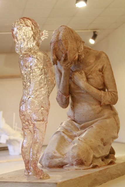 Phillipians 4:13 This sculpture is called Miscarriage It's ...