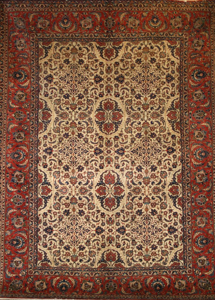 Handmade Isfahan Rug (Ref: 171) by Little-Persia