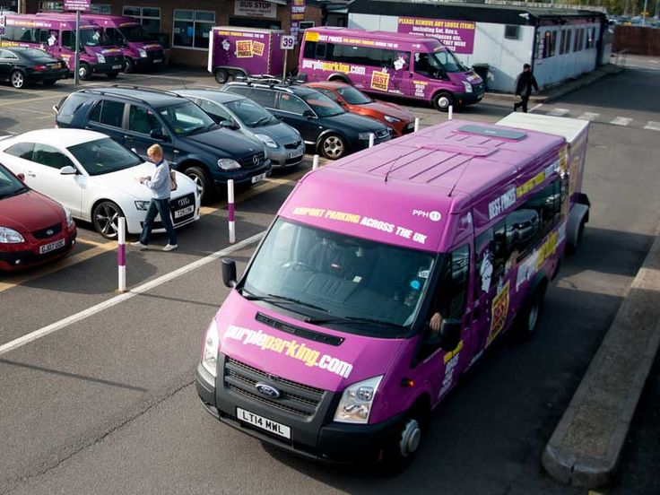 Purple Parking Park and Ride - London Heathrow