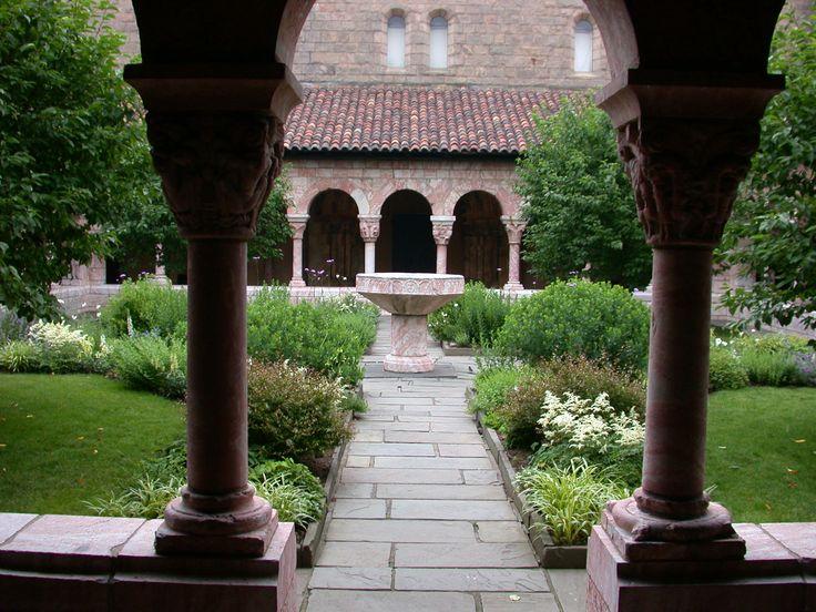 Cloister walled garden