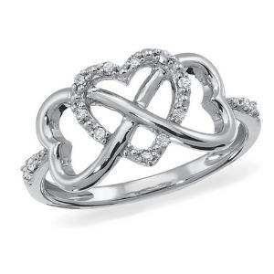 lovely infinity ring