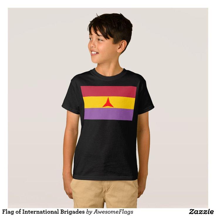 Flag of International Brigades T-Shirt