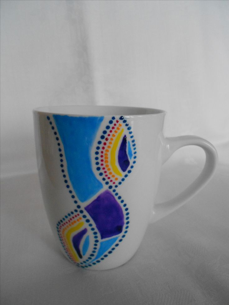 Hand plated cup