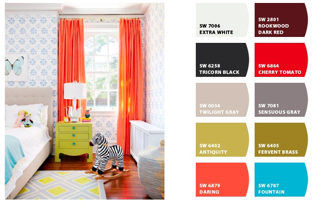 Sherwin-Williams paint colors