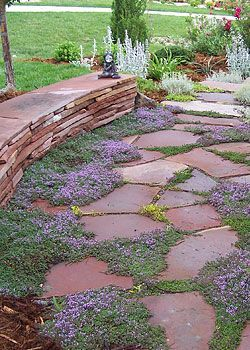 447 best walkway ideas images on pinterest landscaping ideas backyard patio and arquitetura - Slab pathway design ideas ...