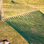 Twin Oaks Rainforest Quilted Sunbrella Fabric Double Hammock - Hammocks at Hayneedle