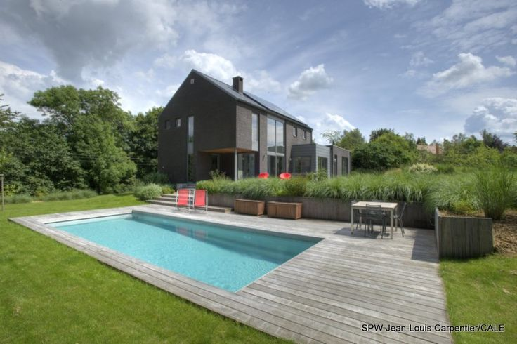 Feluy House 01 800x533 New Private House in Feluy by Bureau 2G