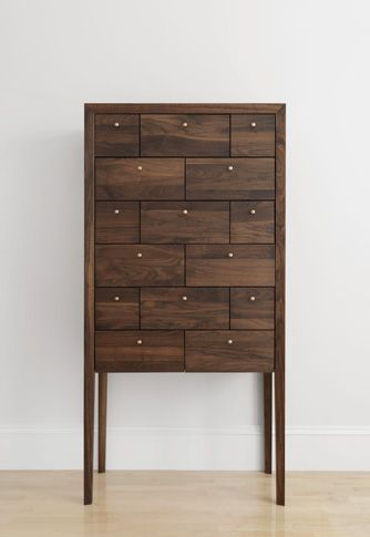 Inspired by an 18th century classic, Richard Watson's highboy revives the notion that your most precious keepsakes have a worthy home