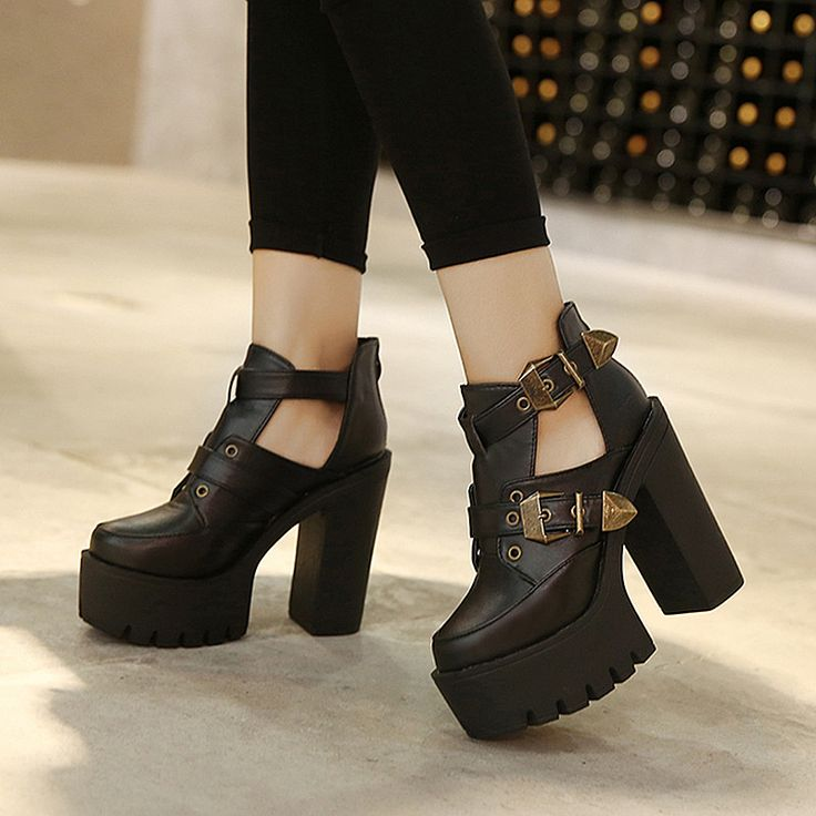 2015 Spring Autumn Female Pumps Round Toe Platform Thick High Heeled Women Single Shoes Casual Cut-outs Buckle Sexy Ankle Boots Nail That Deal http://nailthatdeal.com/products/2015-spring-autumn-female-pumps-round-toe-platform-thick-high-heeled-women-single-shoes-casual-cut-outs-buckle-sexy-ankle-boots/ #shopping #nailthatdeal