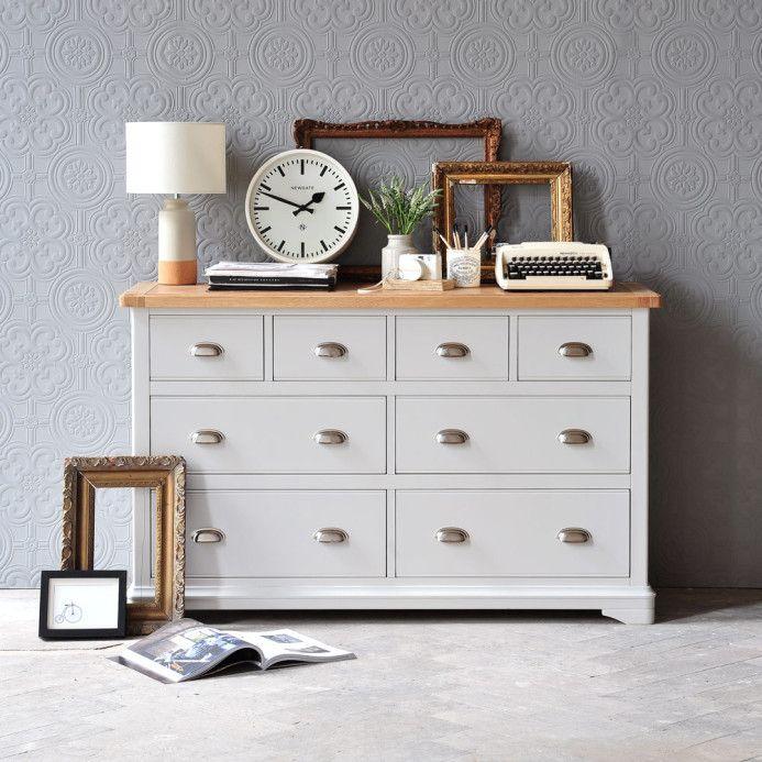 Bedroom Furniture Cream Chest Of Drawers Signature Design