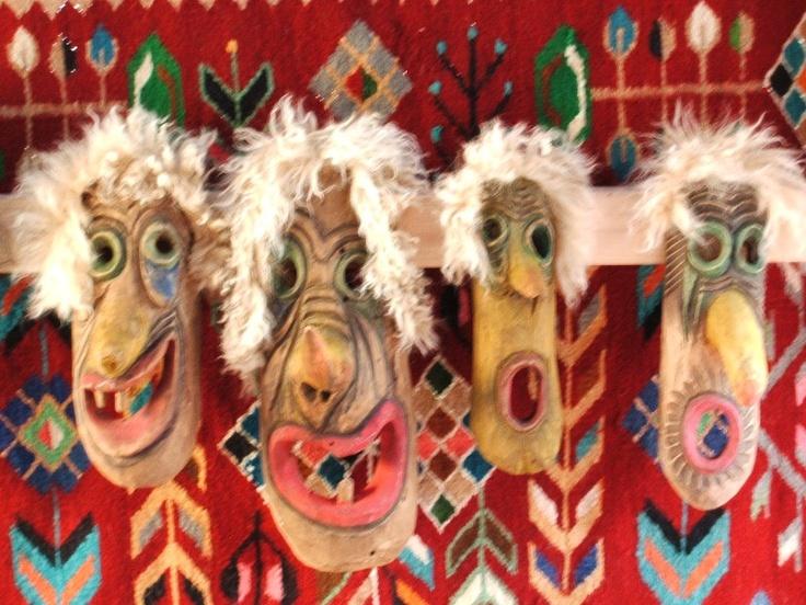 Masti populare din Arges, Romania