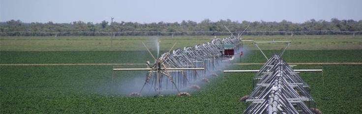 Zimmatc lateral move irrigators in Australia