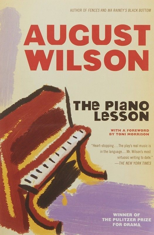 The Piano Lesson August Wilson (1990 Trade Paperback Ed / Drama