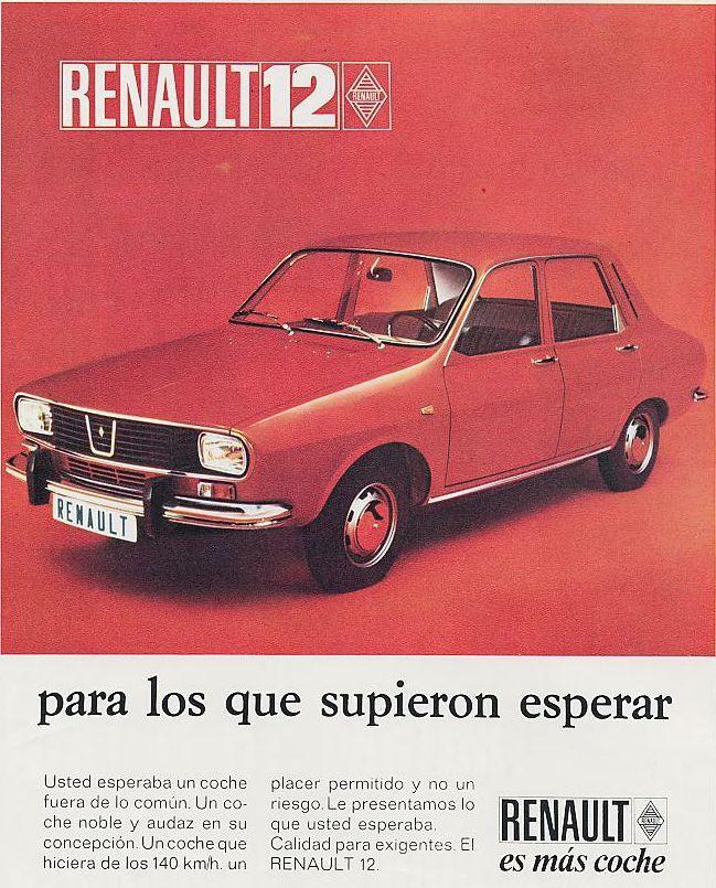 Renault 12. Año 1970