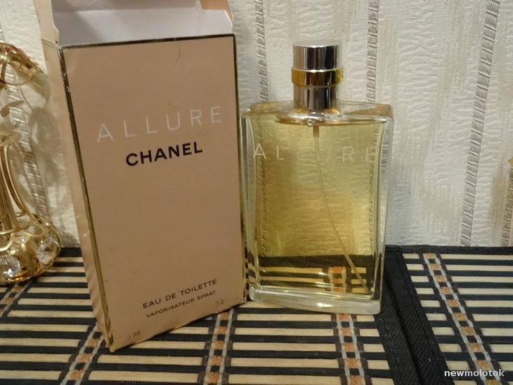 Allure Chanel 100ml. EDT Vintage 1997 by MyScent on Etsy