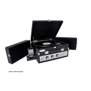 Pyle PLTTB8UI Fold-Out Speaker Vinyl Turntable Record Player | Overstock.com
