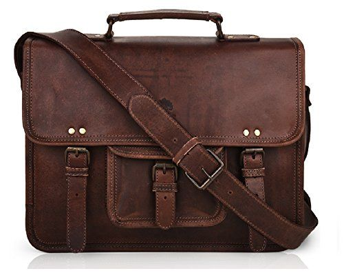 15 Inch Leather Vintage Rustic Crossbody Messenger Courier Satchel Bag Gift Men Women ~ Business Work Briefcase Carry Laptop Computer Book Handmade Rugged & Distressed ~ Everyday Office College School #Inch #Leather #Vintage #Rustic #Crossbody #Messenger #Courier #Satchel #Gift #Women #Business #Work #Briefcase #Carry #Laptop #Computer #Book #Handmade #Rugged #Distressed #Everyday #Office #College #School