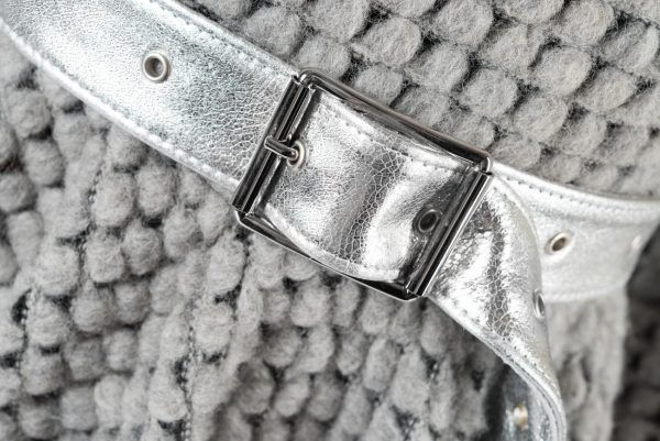 Silver Leather & Wool for FW16 by Concepto