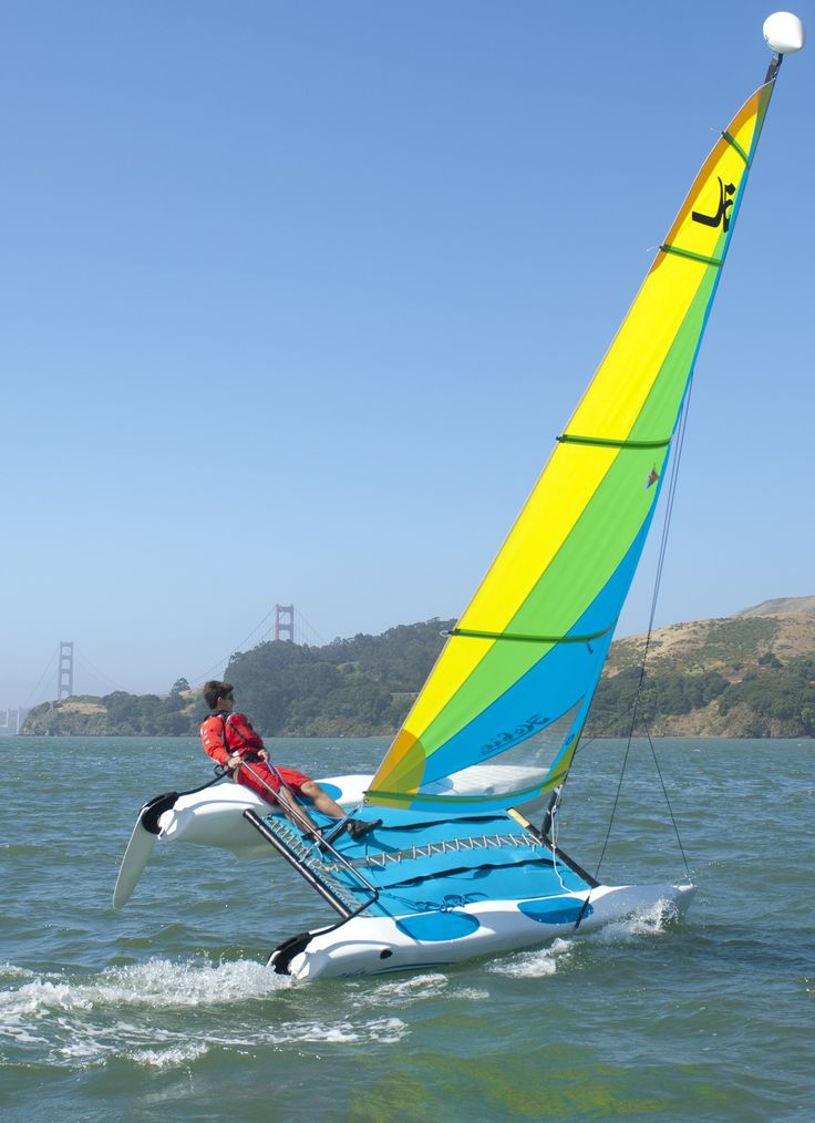Or do I want the 'bigger small boat', the Hobie Cat Wave...?