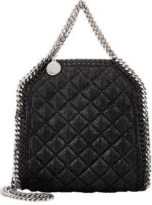 Stella McCartney Top Handle Handbag On Sale, Medium Grey, Eco Leather, 2017, one size